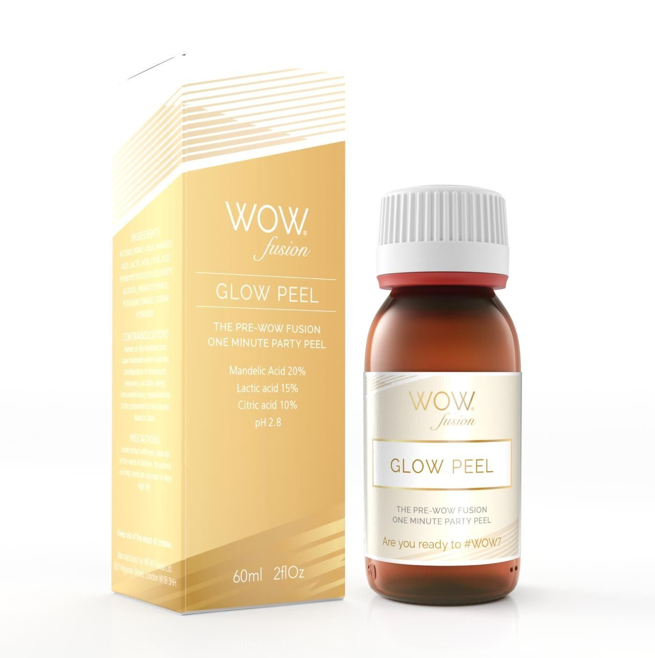 Introducing the new WOW fusion® GLOW peel